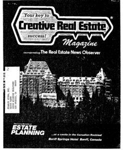 Creative Real Estate Article